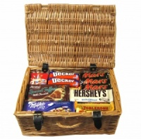 Wicker Chocolate Family Hamper