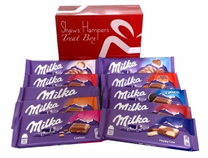 Milka Chocolate Bar Gift Box